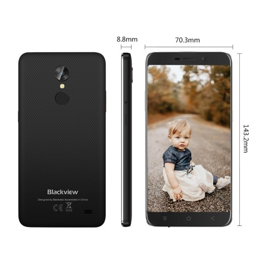J99 Blackview A10 5.0'' 2GB RAM, Quad Core, 8MP