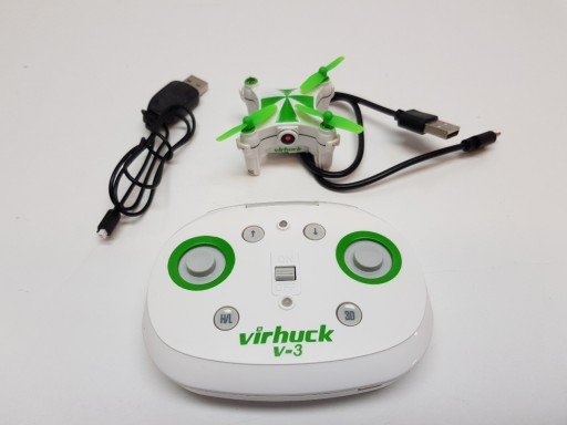 B63 Mini Dron Virhuck V-3 Wifi FPV 0,3 MP 3D/360